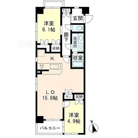 KDXレジデンス宮前平 / 2階 部屋画像1