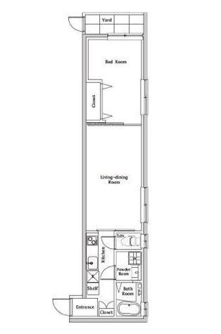 スペリオール白金台 / 1階 部屋画像1