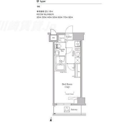 AN木場 / 6階 部屋画像1