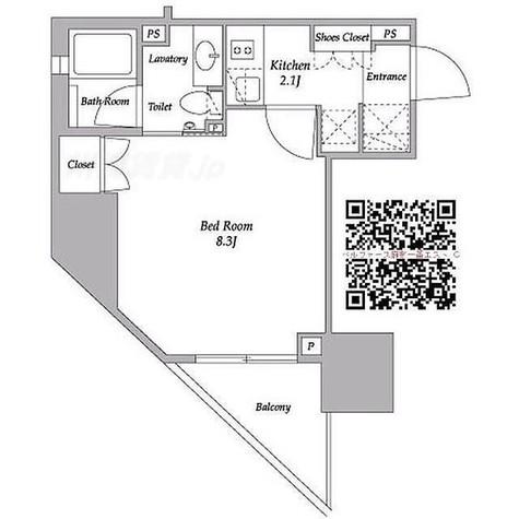 ベルファース麻布十番エスト / 1階 部屋画像1
