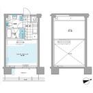 プライムアーバン芝浦LOFT(旧アーバンステージ芝浦LOFT・Cove Shibaura LOFT) / 403 部屋画像1