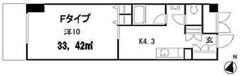 HF駒沢公園レジデンスTOWER(旧トゥールジョーヌ駒沢公園) / 1DK(33㎡) 部屋画像1