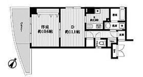 HF白山レジデンス(旧レジデンス向丘) / 1階 部屋画像1