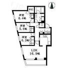 KWレジデンス桜新町 / 3LDK(87.74㎡) 部屋画像1