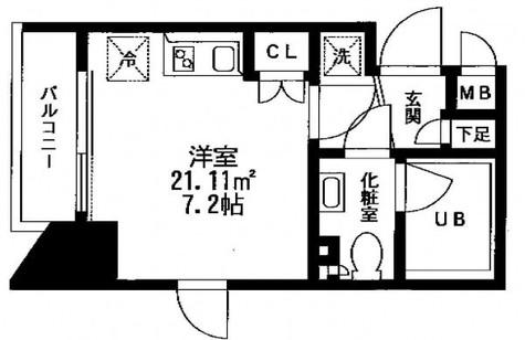 プリモ・レガーロ北品川 / 12階 部屋画像1
