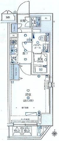 ルクシェール横濱 / 802 部屋画像1