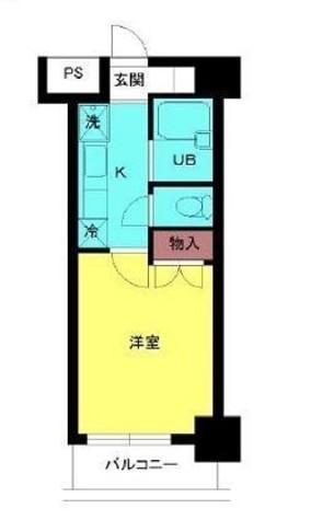 スカイコート笹塚駅前 / 3階 部屋画像1