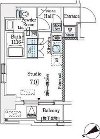 ベルファース武蔵小山 / Dタイプ 部屋画像1