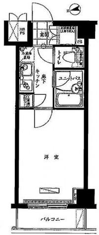 ルーブル中延弐番館 / 4階 部屋画像1