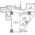 カスタリアタワー品川シーサイド / 70Iタイプ 部屋画像1