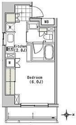アパートメンツ白金高輪 / 1R(26.72㎡) 部屋画像1