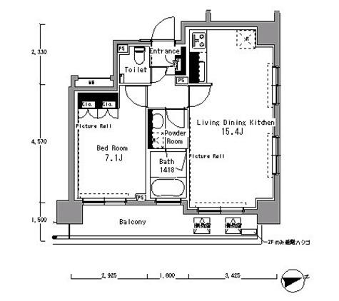 パークアクシス渋谷桜丘サウス / 1LDK(50㎡) 部屋画像1