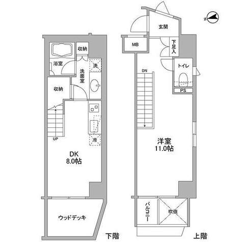 コンフォリア東中野DEUX / 1DK(49㎡) 部屋画像1