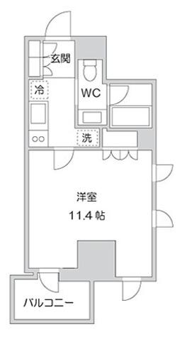 KWレジデンス麹町 / 1K(33.10㎡) 部屋画像1