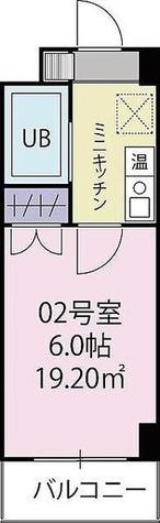 ベルビー川崎 / 2階 部屋画像1