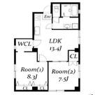 サンストン白金台 / 206 部屋画像1