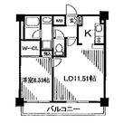 レジディア新川 / 504 部屋画像1