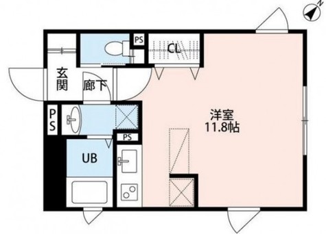 NOZOMIO武蔵小山 / W204 部屋画像1