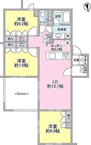 TheCenturyMiyazakidai / 1階 部屋画像1