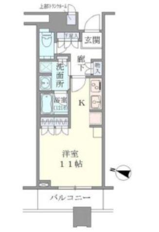 Brillia Towers目黒ノースレジ(ブリリアタワー目黒ノースレジ) / 1404 部屋画像1