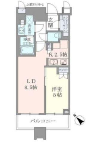 Brillia Towers目黒ノースレジ(ブリリアタワー目黒ノースレジ) / 409 部屋画像1