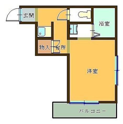 メゾン東元町 / 202 部屋画像1