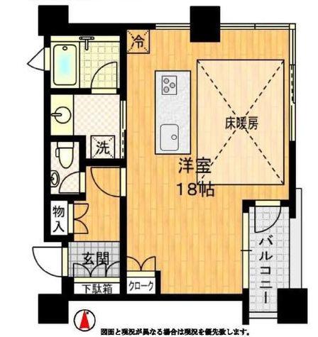 サンウッド三田パークサイドタワー / 8階 部屋画像1