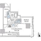 ベルファース芝浦タワー / 1L-Bタイプ(38.98㎡) 部屋画像1