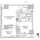 ベルファース芝浦タワー / 2L-Gタイプ(57.74㎡) 部屋画像1