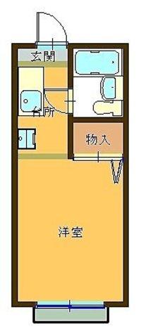 日吉ハイツ / 107 部屋画像1