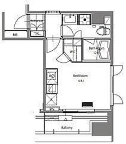 HF青葉台レジデンス / 1階 部屋画像1