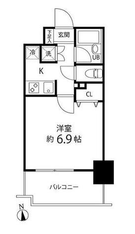 スペーシア秋葉原 / 2階 部屋画像1