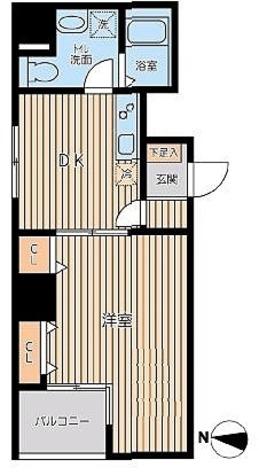 KWレジデンス三ノ輪Ⅱ / 1階 部屋画像1