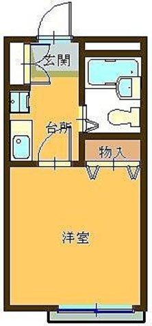 代田橋 5分アパート / 202 部屋画像1