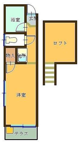 MTハイツ / 1 Floor 部屋画像1