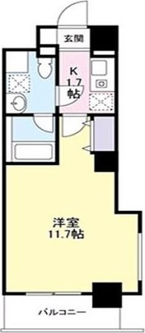 ドゥーエ東高円寺 / 1K(31.54㎡) 部屋画像1