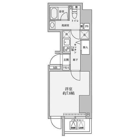 リヴシティ赤坂 / 1階 部屋画像1
