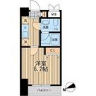 ライブコート大鳥居 / Aタイプ 部屋画像1