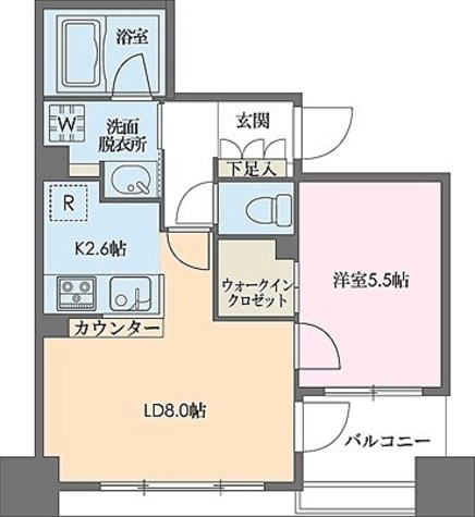 ドゥーエ新川 / 1階 部屋画像1