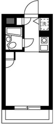 トップ新丸子 / 1階 部屋画像1