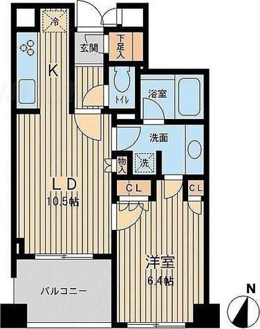 アーデン駒沢パークフロント / 2階 部屋画像1