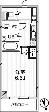 ガーラプレイス八幡山壱番館 / 2階 部屋画像1