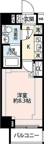 プレール・ドゥーク下板橋 / Aタイプ 部屋画像1