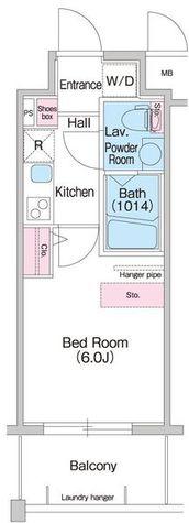 コンフォリア扇町 / 7号室(20.00㎡) 部屋画像1