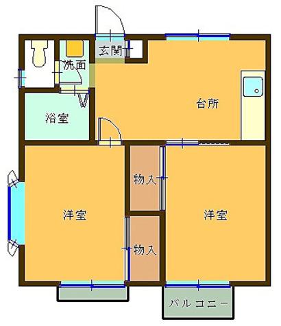 シャレー渋谷 / 101 部屋画像1