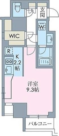 ステイシス八王子 / Cタイプ(32.93㎡) 部屋画像1