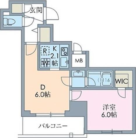 ステイシス八王子 / Gタイプ(34.20㎡) 部屋画像1