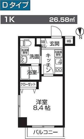 レオーネ板橋本町 / 1階 部屋画像1