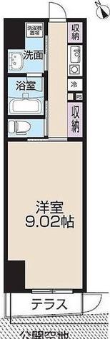 レピュア王子本町 / Bタイプ(26.12㎡) 部屋画像1