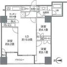 カスタリアタワー品川シーサイド / 70Dタイプ(67.21㎡) 部屋画像1